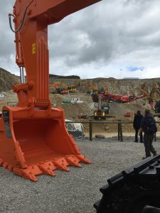 Hillhead Show - demonstrating attachments